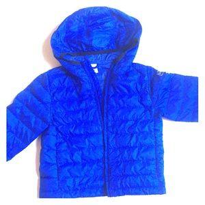 Gap Baby boy blue light buffer jacket